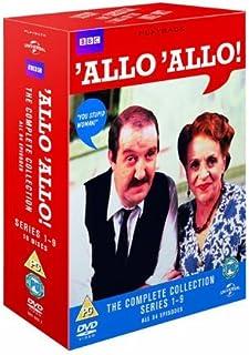 Allo Allo! (Complete Collection - Series 1-9) - 16-DVD Box Set ( Allo 'Allo! (84 Episodes) ) [ Origen UK, Ningun Idioma Espanol ]