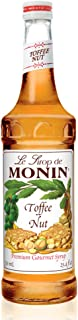 Monin - Toffee Nut Syrup, Bold and Buttery, Great for Coffee and Desserts, Gluten-Free, Vegan, Non-GMO (750 Milliliters)