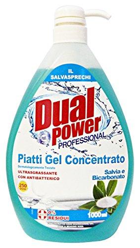 DUAL POWER GEL PIATTI CONC.1L BICAR