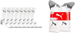 Men's Crew Socks Sports Cool Cell , 8-pack, Sock Size 10-13, Shoe Size 6-12