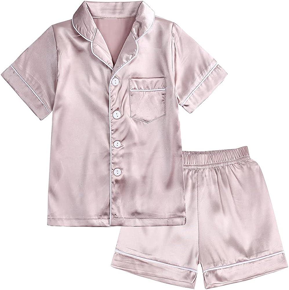 2Pcs Boys Girls Tie Dye Pullover Outfits Set, Little Kids Long Sleeve Sweatshirt Tops + Active Pants