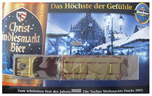 Tucher Nr.124 - Christkindlesmarkt Bier 2003 - 2 von 4 - 1-64 - Scania - Sattelzug mit Tankauflieger