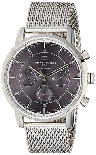 Tommy Hilfiger silver-tone stainless steel