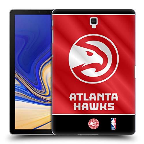 Head Case Designs Ufficiale NBA Banner 2019/20 Atlanta Hawks Cover Dura per Parte Posteriore Compatibile con Galaxy Tab S4 10.5 (2018)