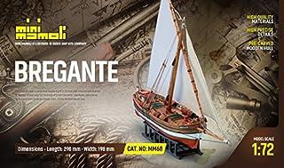 MINI MAMOLI - Modello Kit Barca BREGANTE-LEUDO MEDITERRANEO Serie MINIMAMOLI Scala 1:72 - DUS_MM68