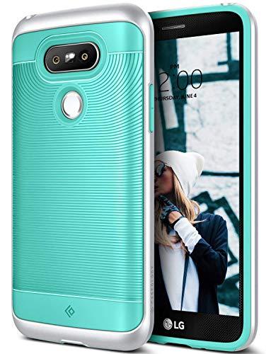 Caseology Wavelength for LG G5 Case (2016) - Stylish Grip Design - Mint Green
