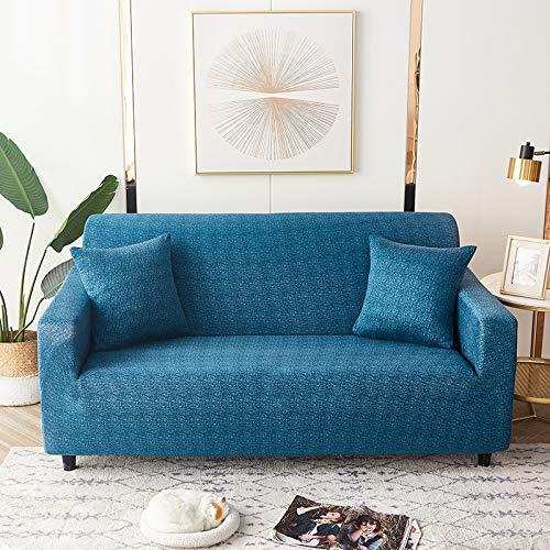 Fundas elásticas geométricas para sofá, Fundas elásticas para sofá para Sala de Estar, Funda para sofá, Silla, Funda para sofá, decoración del hogar, A18, 2 plazas