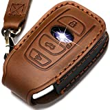 ZiHafate Leather Cover Key Fob Case...