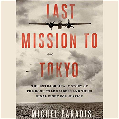 Last Mission to Tokyo audiobook cover art