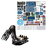 SunFounder Robotic Arm Edge Kit for Arduino R3 with Mega2560 R3 Project The Most Complete Starter Kit for Arduino