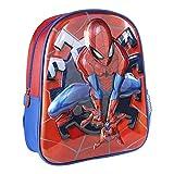 Cerdá, Mochila Infantil 1-5 Años de Spiderman con Licencia Oficial de Marvel Studios-Medidas 25 x...