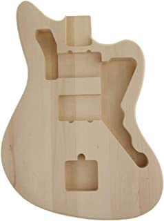 SUPVOX Guitar Body Unfinished Wood Guitar Body Guitar Body Durable Guitar Body Guitar Parts Guitar Barrel for Guitar Musical Instrument