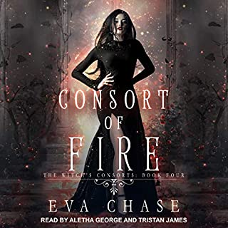 Page de couverture de Consort of Fire: A Paranormal Reverse Harem Novel