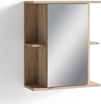 Jokey saphir armoire glace largeur 60 cm blanc - Armoire a glace salle de bain ...