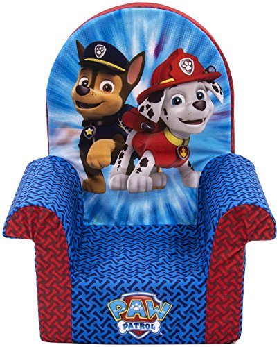 Marshmallow Furniture 2-in-1 Flip Open Couch Bed Sleeper Sofa Kid's Furniture for Ages 18 Months and Up, Paw Patrol