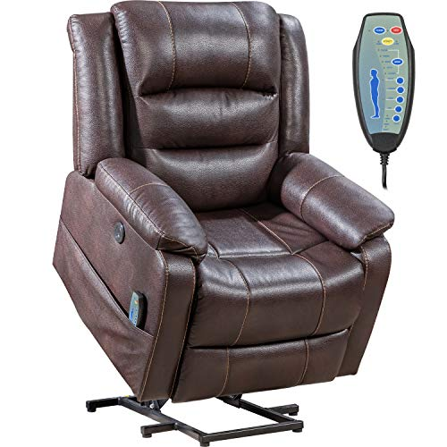 Lift Chair for Elderly Recliner Power Lift Chair Recliner Electric Recliner Wall Hugger Recliner Chair Living Room Chair with Remote Control