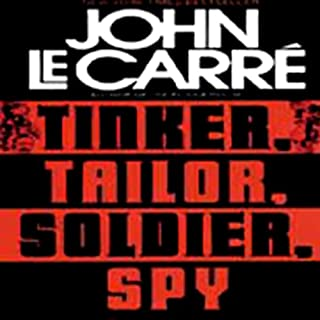Tinker, Tailor, Soldier, Spy audiobook cover art