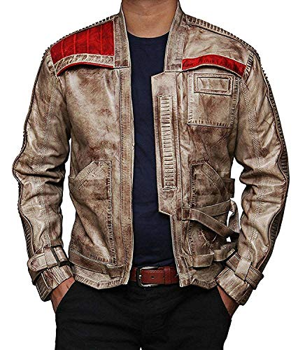Blingsoul Brown Jacket for Mens – Waxed Brown Costume Jacket | [1100666] Fin Wax, 2XL
