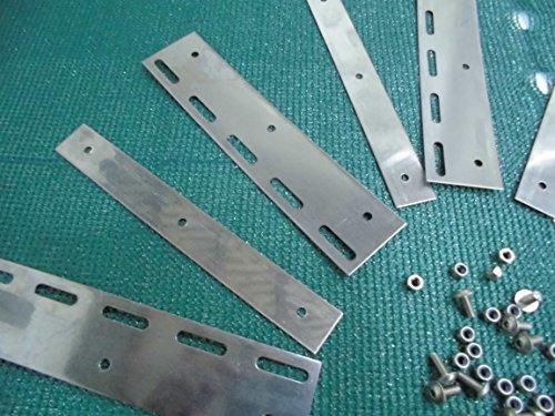 5 Stück Pendelplatten für Lamellenvorhang Breite zum auswählen (20 cm)