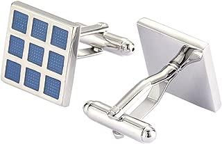 solar panel cufflinks