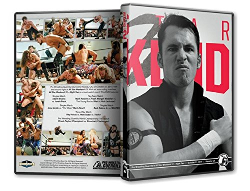 Official Pro Wrestling Guerrilla PWG - All Star Weekend 13 Night 2 2017 Event DVD