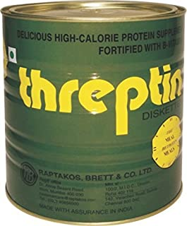 Threptin Diskettes High-CalorieProtein Supplement, 1000g by THREPTIN