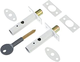 Yale Door Security Bolt White x 2