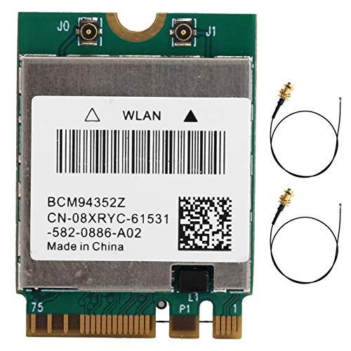Tarjeta Inalámbrica, Adaptador WLAN De Doble Banda NGFF M.2 Bluetooth 4.0 802.11ac...