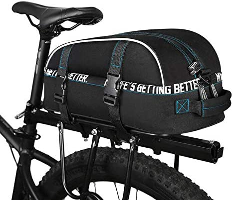 YUYAXBG Fashion Rear Bicycle Pannier Tucson Mall NEW before selling ☆ Trunk Bag Seat Bike Ba