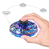 Flying Toys, Hand Operated UFO Drone with LED Light 4 Mode USB Rechargeable Mini Flying Ball, Gifts Indoor Toys for Boys Girls Teens and Adults
