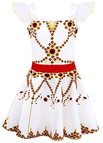 AmzBarley Disfraz de Bailarina de Felicie Vestido de Bailarina de Ballet para niños Fiesta de Rendimiento de niñas