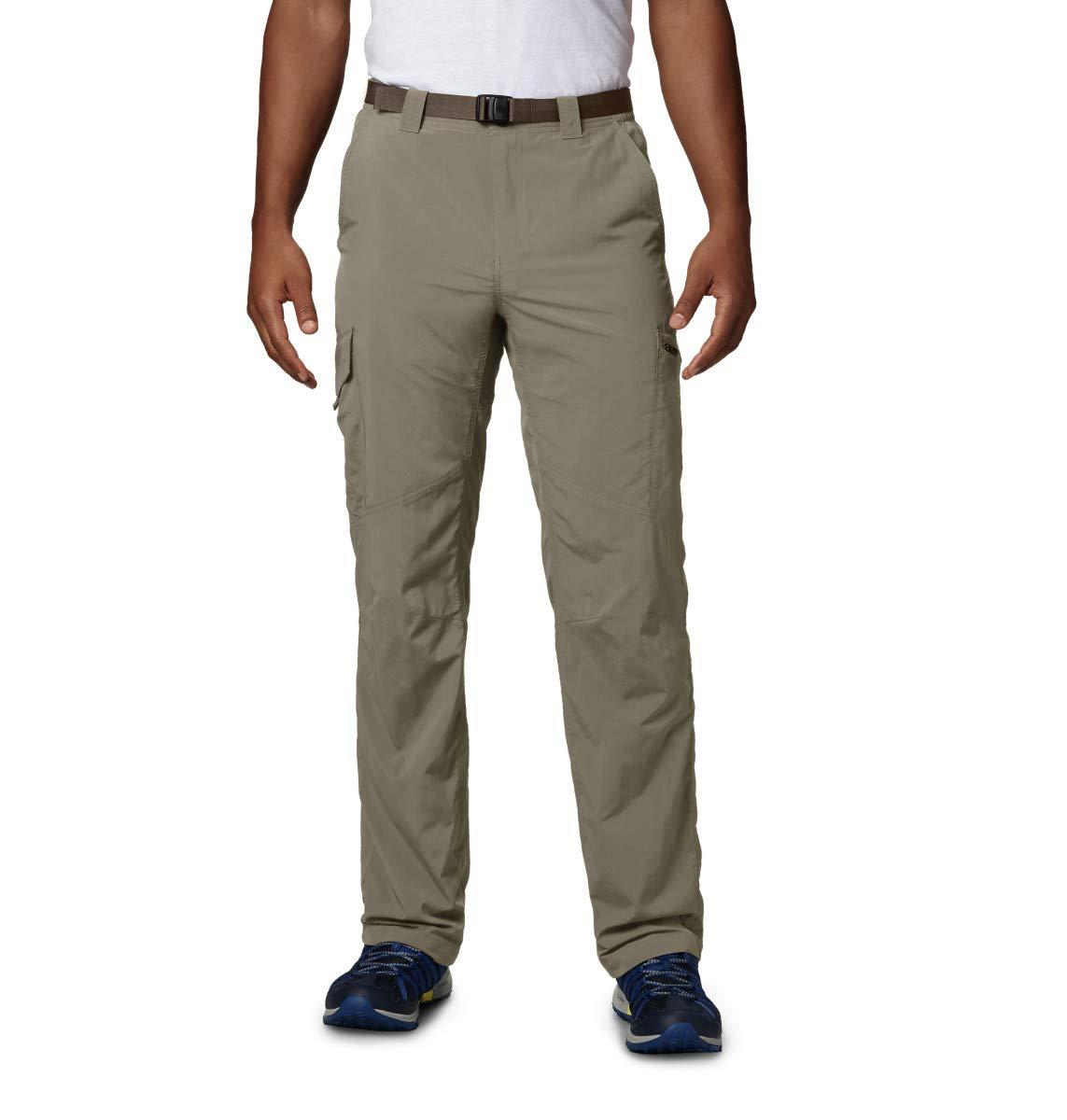 Columbia Cargo Wanderhose für Herren, Silver Ridge Cargo Pant, Nylon, beige (Tu