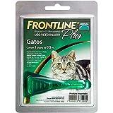 FRONTLINE PLUS GATO (1 A 10 KG) - CARTELA COM 1 PIPETA DE 0,5ML - MERIAL