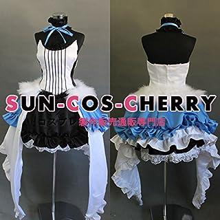 【サイズ選択可】コスプレ衣装 E7-021 VOCALOID ボーカロイド セブンスドラゴン2020-II 初音ミク Miku 女性Mサイズ