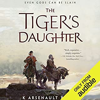 The Tiger's Daughter                   Written by:                                                                                                                                 K Arsenault Rivera                               Narrated by:                                                                                                                                 Caroline McLaughlin                      Length: 14 hrs and 57 mins     18 ratings     Overall 3.6