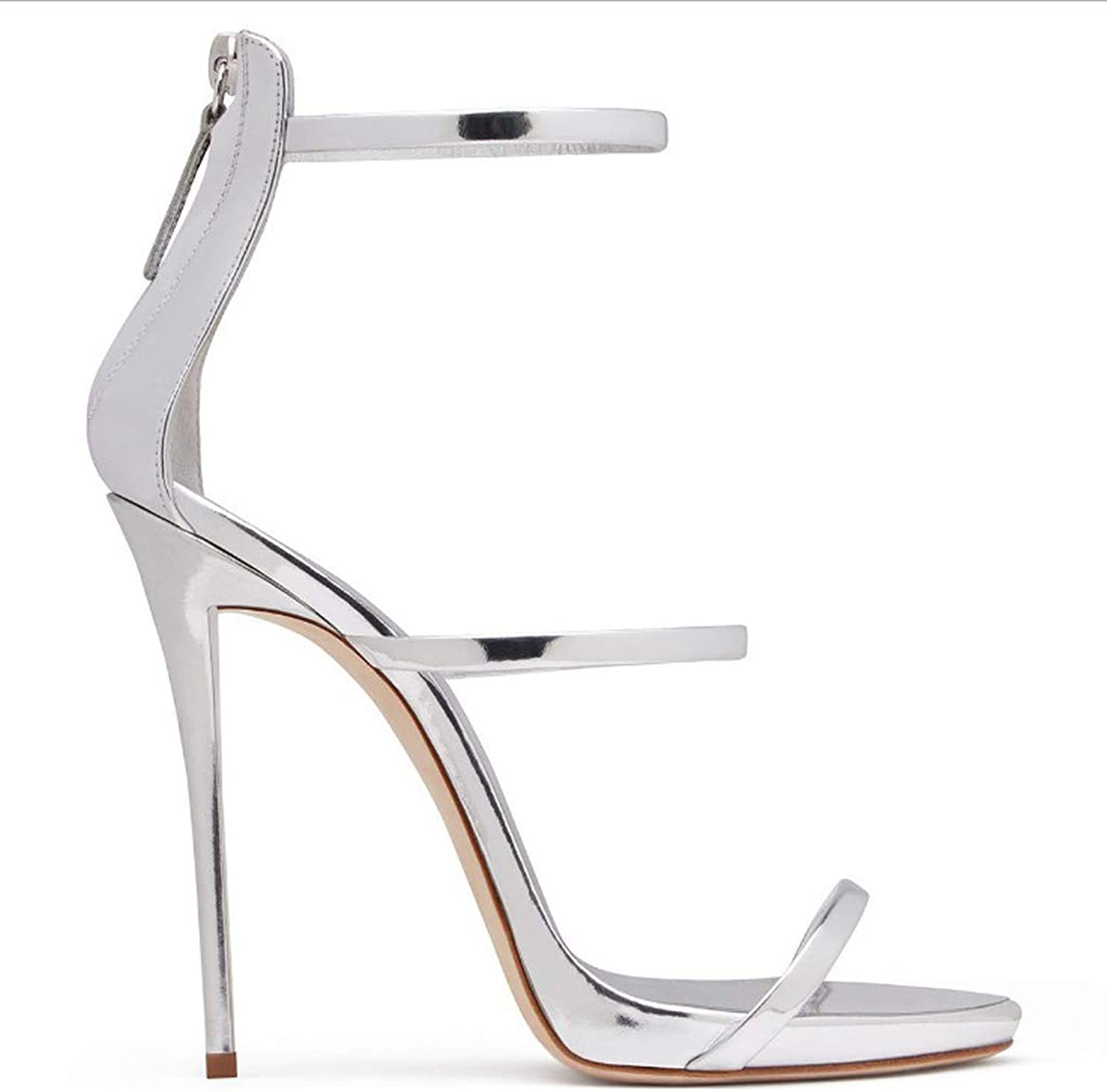 European and American Fashion Sandals Roman Foot Ring Strap High Heel Women's shoes
