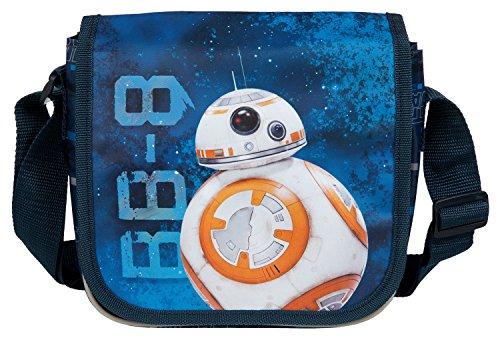 Undercover SWMK7293 Star Wars - Bolsa para guardería, Aprox. 21 x 22 x 8 cm, Color Azul.