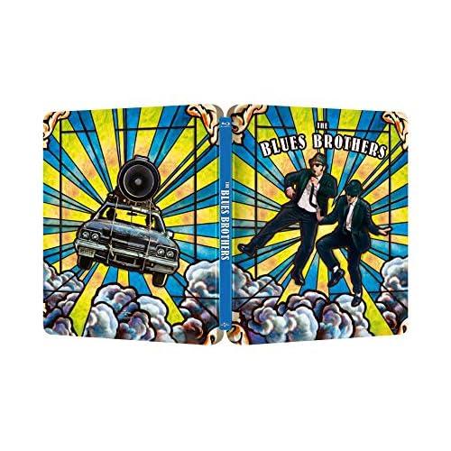 The Blues Brothers - Edizione 40° Anniversario Steelbook 4K Ultra HD  (2 Blu Ray)
