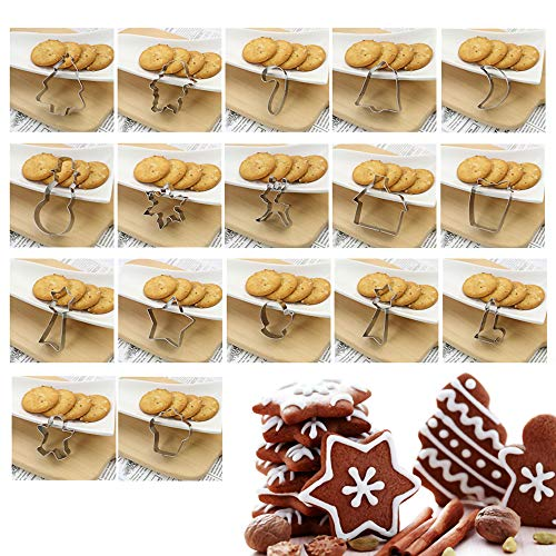 Catálogo de Cortadores de galletas navideños que puedes comprar esta semana. 10