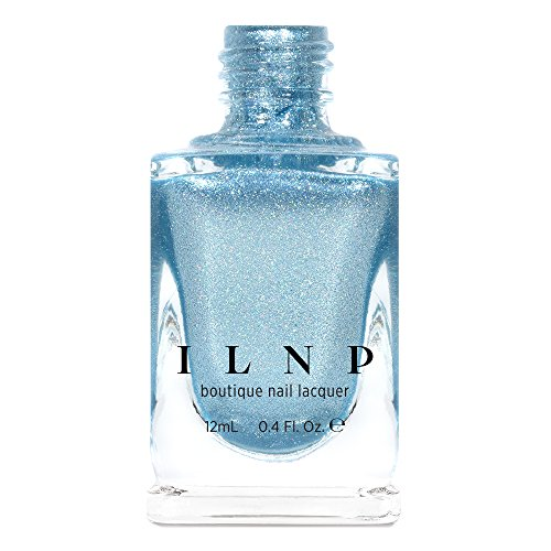 ILNP New Day - Icy Blue Holographic Metallic Nail Polish