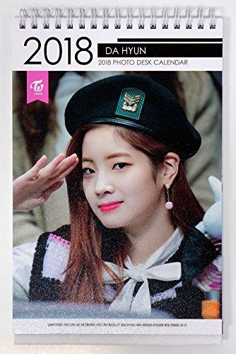 ダヒョン トワイス - 2018-2019 PHOTO DESK CALENDAR 卓上カレンダー [韓国盤]