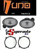 Hertz Linea Uno K165 K 165 Kit de altavoces de dos vías para coche de 165 mm + soportes para altavoces Alfa 147 delantero o trasero 165 cm