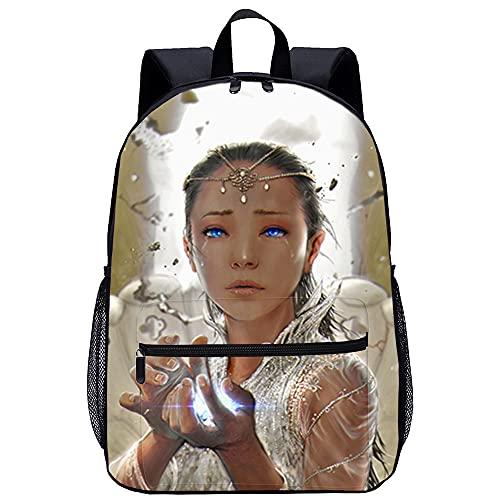 KKASD Histoire sans fin impression 3D sac à dos de voyage de mode Sac à dos décontracté dames hommes sacs d'école pour enfants 45x30x15cm sac d'école pour enfants