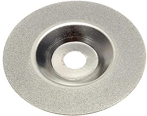 mdtep 100mm 4 Inch Diamond Coated Wheel Grinding Silver Cheap Sales results No. 1 super special price Grinder