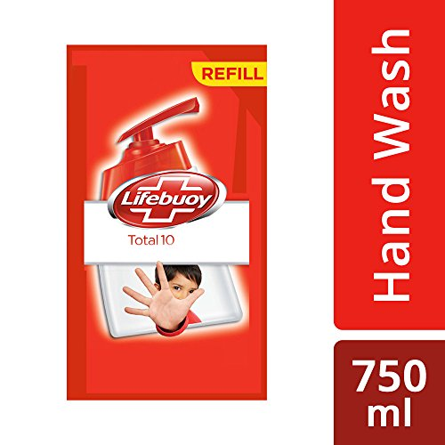 Lifebuoy Total 10 Active Silver Formula Hand Wash - 750 ml