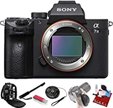 Sony Alpha a7 III Mirrorless Digital Camera (Body Only) + Pro Accessories Bundle