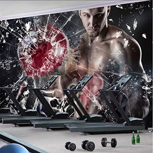Pbbzl behang, op maat gemaakt, schoonheid, gymnastiek, foto, wandscherm, bokszak, casino-motief, behang 150 x 120 cm