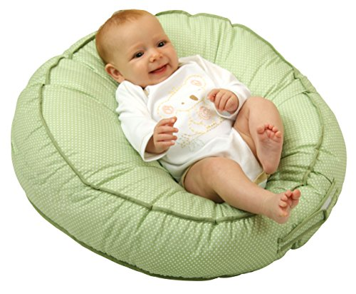 Leachco Podster Sling-Style Infant Seat Lounger, Sage Pin Dot