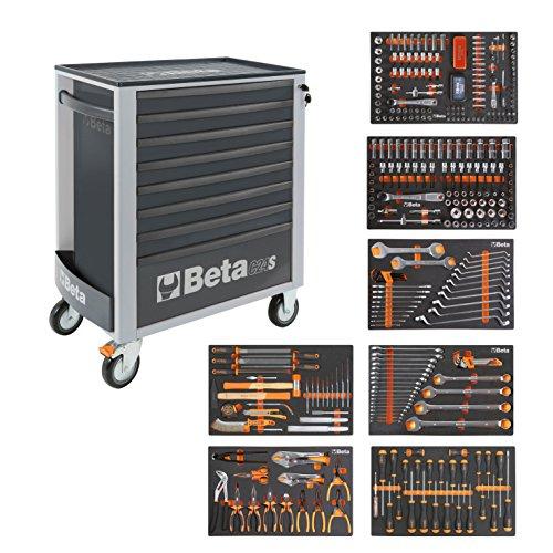 BETA Easy 400S-O8/E-XL 024002293 Carro de herramientas con 8cajones con...