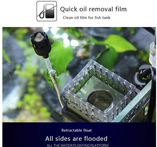 Marine Color Sunsun Aquarium Surface Protein Skimmer 5W JY03 Aquarium Oil Film Processor JY-03 Oil Removal Filter Fish Tank Filter